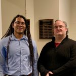 TJ Colvin, M.S. with Prof. Salsbury