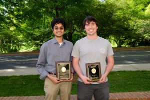 Speas Award Winners Sajant Anand and David Ostrowski