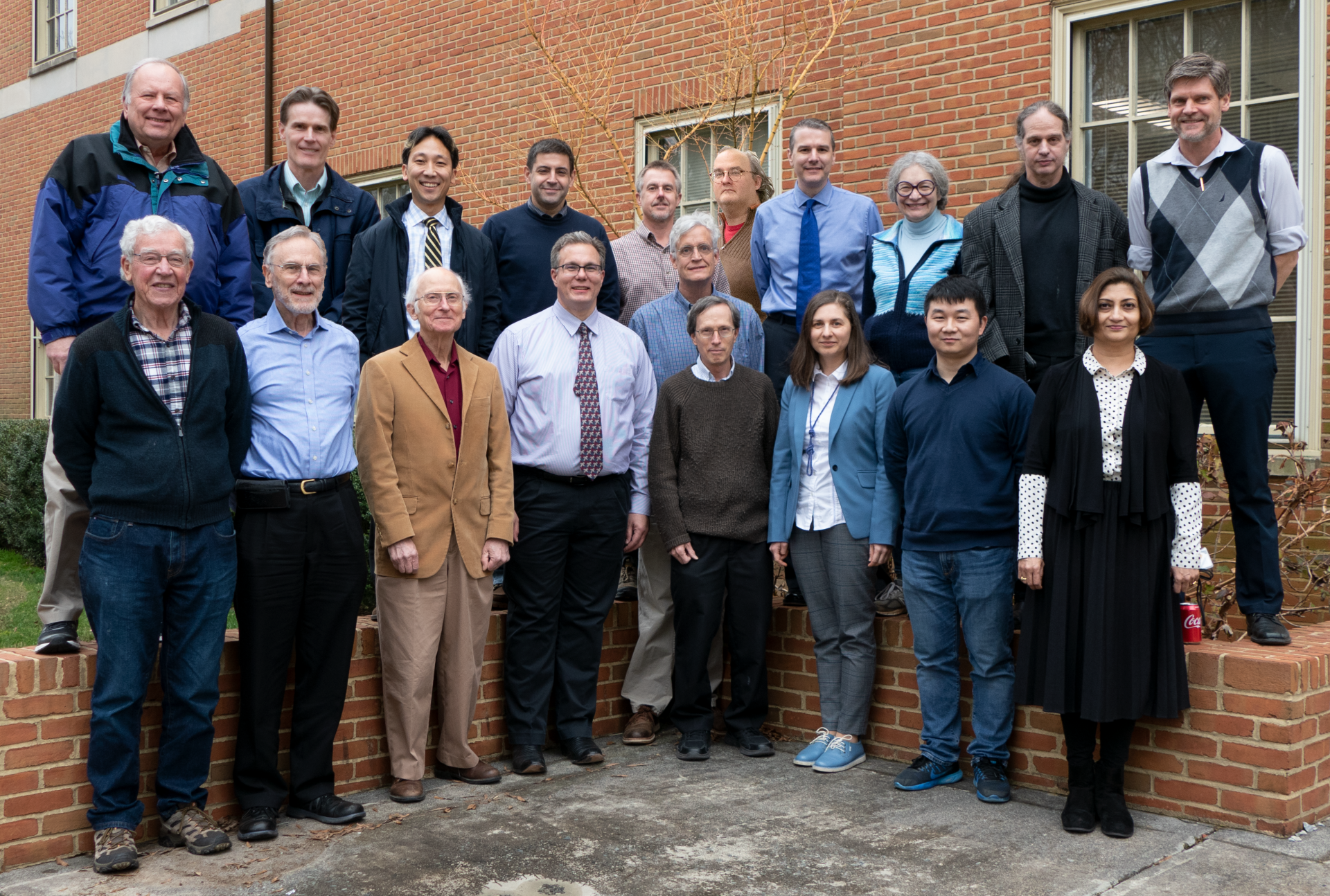 Physics faculty group photo